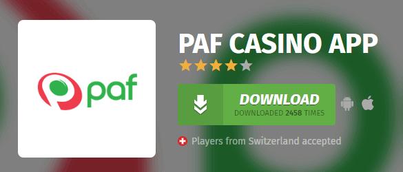 App mobile Paf