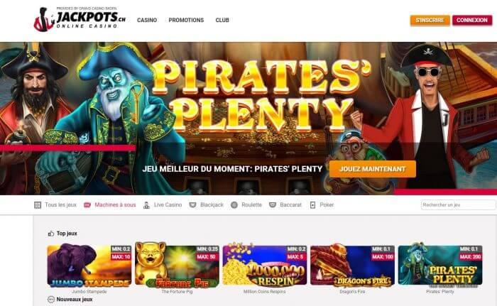 Inscription Jackpots.ch : ouvrir un compte sur le casino en ligne
