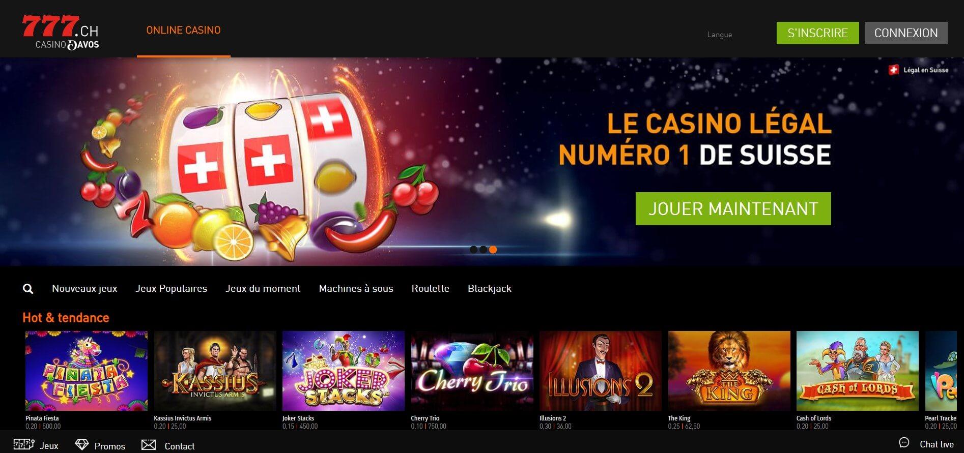 Avis détaillé sur Casino777 : offre, bonus, mobile