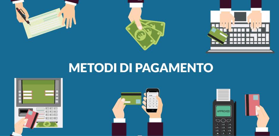 Metodi di pagamento accettati da Jackpots