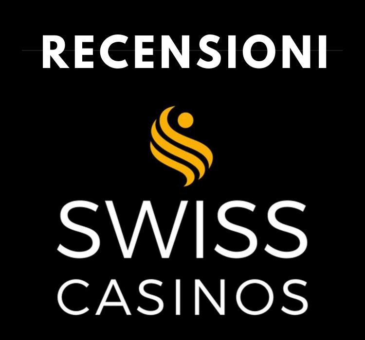 La nostra valutazione sui servizi di Swisscasinos