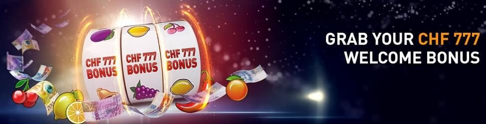 Casino777 welcome bonus