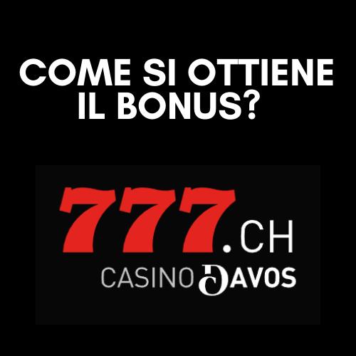 Come ottenere il bonus casino777: termini e condizioni da conoscere