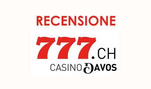 Recensione casino777: valutazioni su servizi e bonus offerti dall'operatore