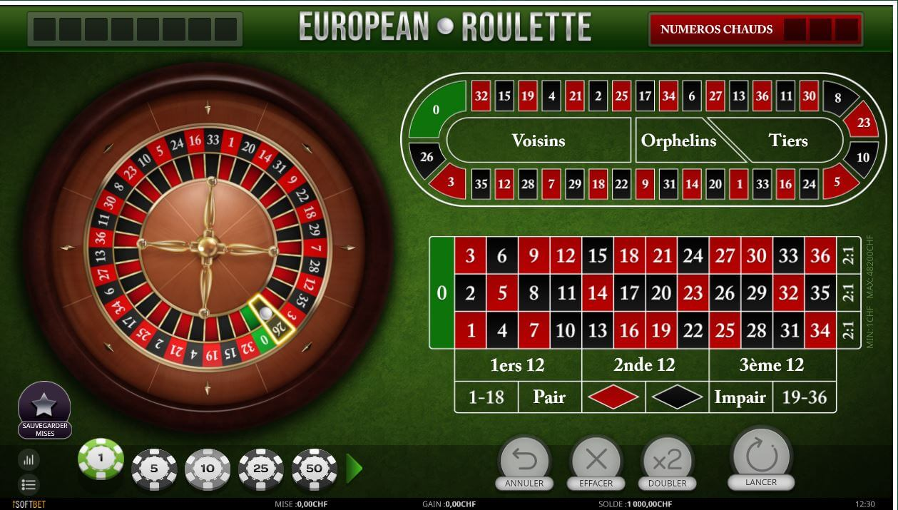 roulette mycasino.ch