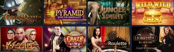 Pasino Casino Games