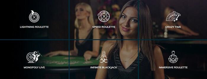 Pasino Live Casino