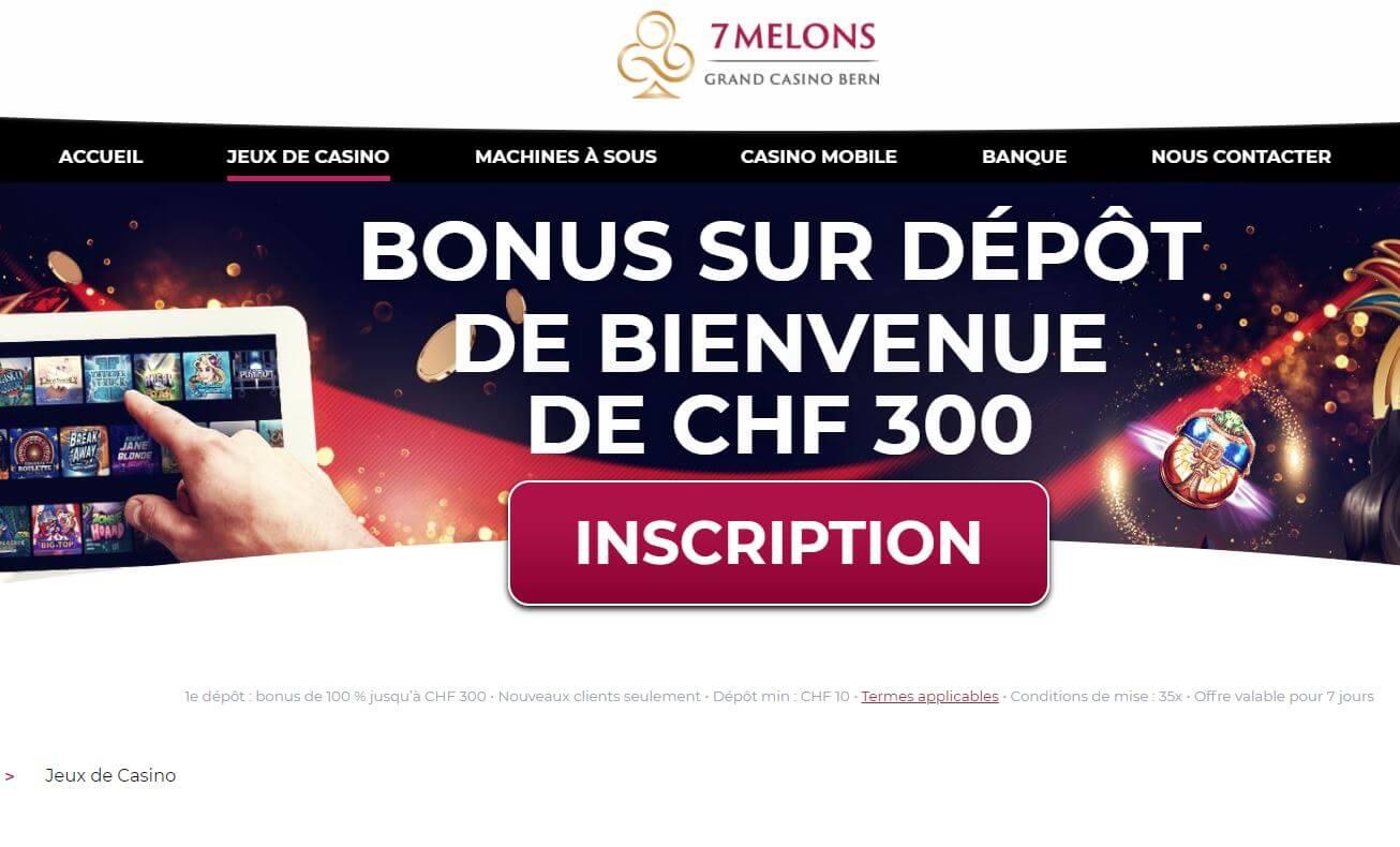 Avis 7melons : bonus de bienvenue, jeux à l'affiche, offres promotionnelles, application mobile